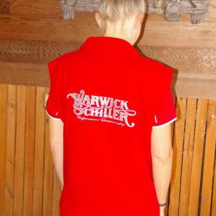 Red Vest Back